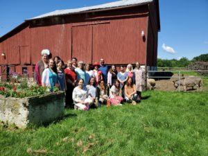 Group at Farm